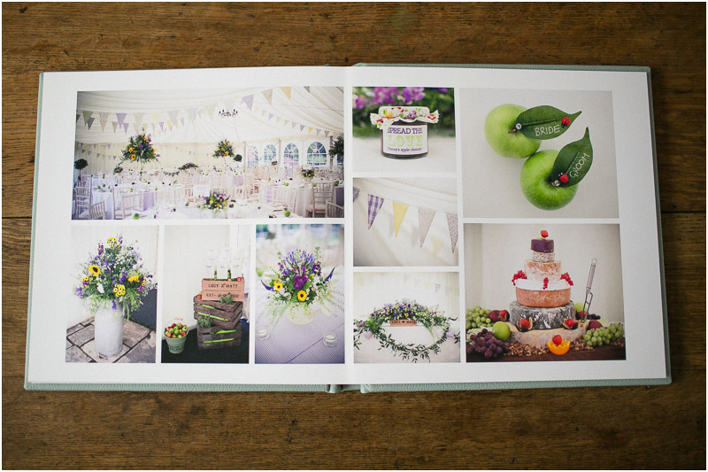 magazine style wedding album design